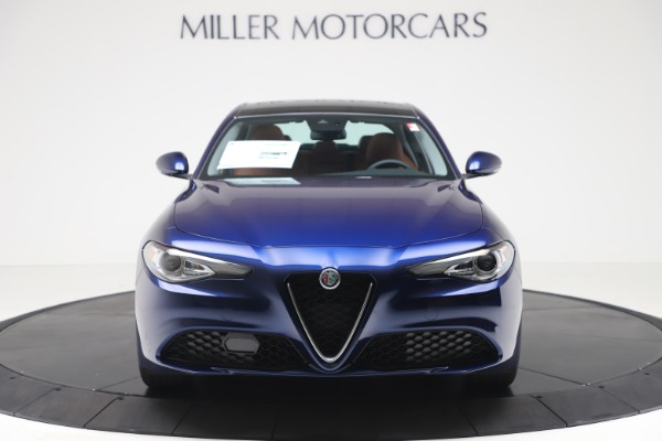 New 2020 Alfa Romeo Giulia Q4 for sale $45,445 at Bugatti of Greenwich in Greenwich CT 06830 12