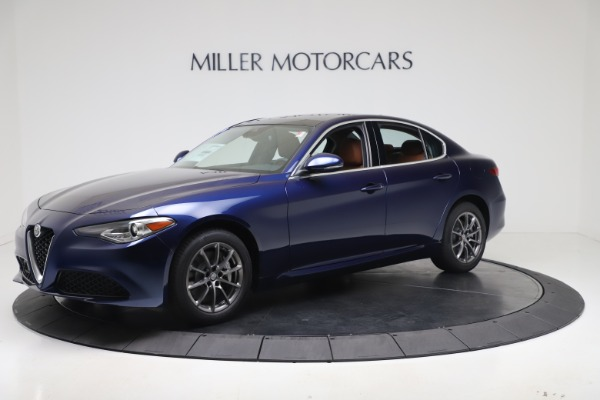 New 2020 Alfa Romeo Giulia Q4 for sale $45,445 at Bugatti of Greenwich in Greenwich CT 06830 2