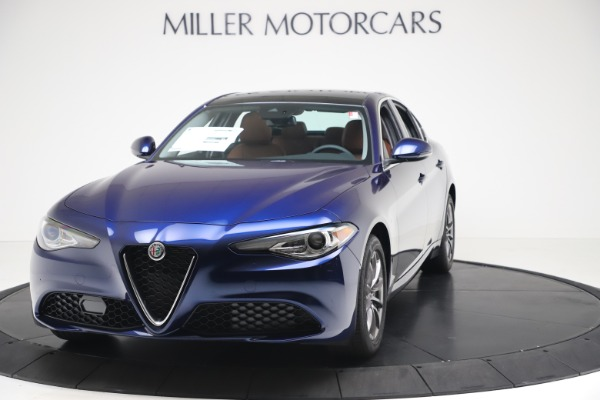 New 2020 Alfa Romeo Giulia Q4 for sale $45,445 at Bugatti of Greenwich in Greenwich CT 06830 1