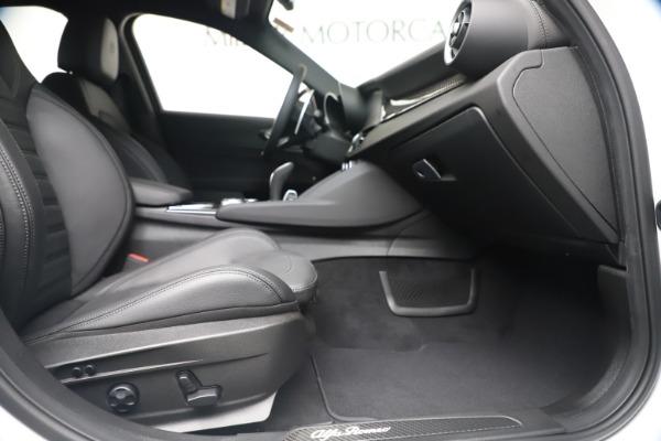 New 2020 Alfa Romeo Giulia Ti Sport Carbon Q4 for sale $51,640 at Bugatti of Greenwich in Greenwich CT 06830 22