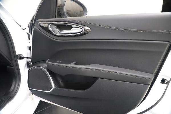 New 2020 Alfa Romeo Giulia Ti Sport Carbon Q4 for sale $51,640 at Bugatti of Greenwich in Greenwich CT 06830 24