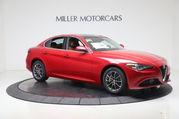 New 2020 Alfa Romeo Giulia Q4 for sale $40,466 at Bugatti of Greenwich in Greenwich CT 06830 10