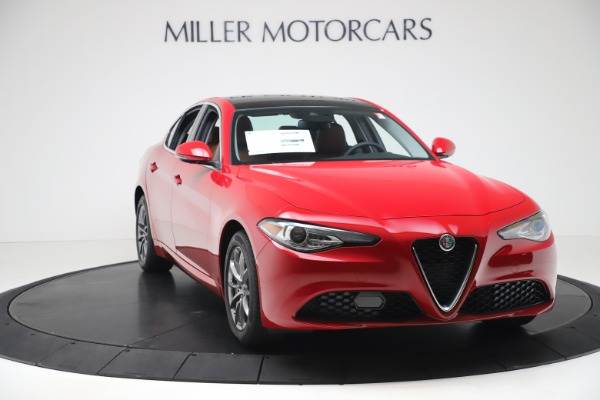New 2020 Alfa Romeo Giulia Q4 for sale $40,466 at Bugatti of Greenwich in Greenwich CT 06830 11