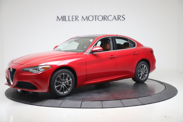 New 2020 Alfa Romeo Giulia Q4 for sale $40,466 at Bugatti of Greenwich in Greenwich CT 06830 2