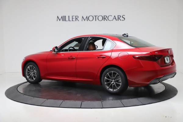 New 2020 Alfa Romeo Giulia Q4 for sale $40,466 at Bugatti of Greenwich in Greenwich CT 06830 4
