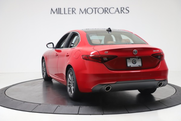 New 2020 Alfa Romeo Giulia Q4 for sale $40,466 at Bugatti of Greenwich in Greenwich CT 06830 5