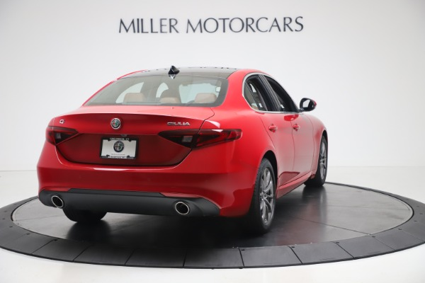 New 2020 Alfa Romeo Giulia Q4 for sale $40,466 at Bugatti of Greenwich in Greenwich CT 06830 7