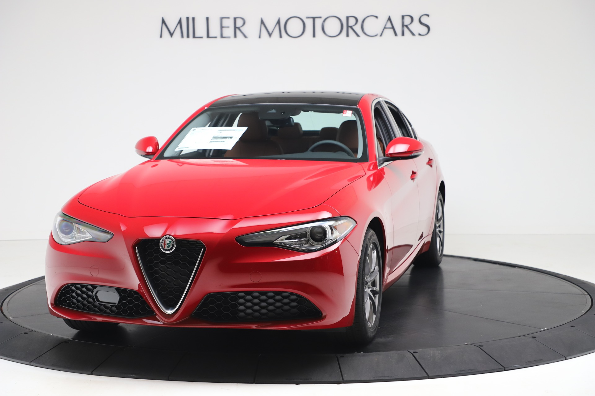 New 2020 Alfa Romeo Giulia Q4 for sale $40,466 at Bugatti of Greenwich in Greenwich CT 06830 1
