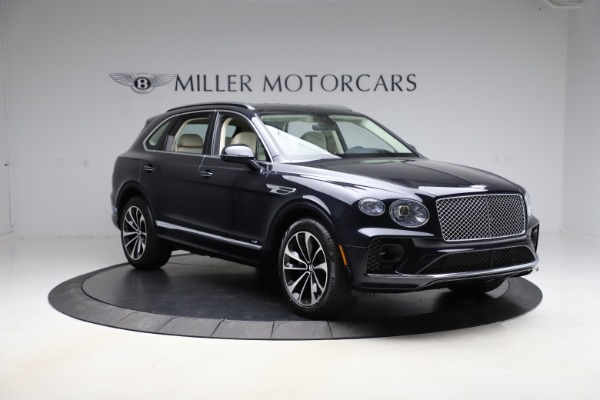 New 2021 Bentley Bentayga V8 for sale Sold at Bugatti of Greenwich in Greenwich CT 06830 11