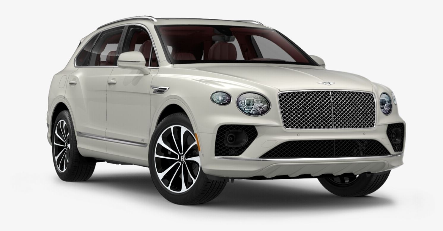 New 2021 Bentley Bentayga V8 for sale $199,290 at Bugatti of Greenwich in Greenwich CT 06830 1