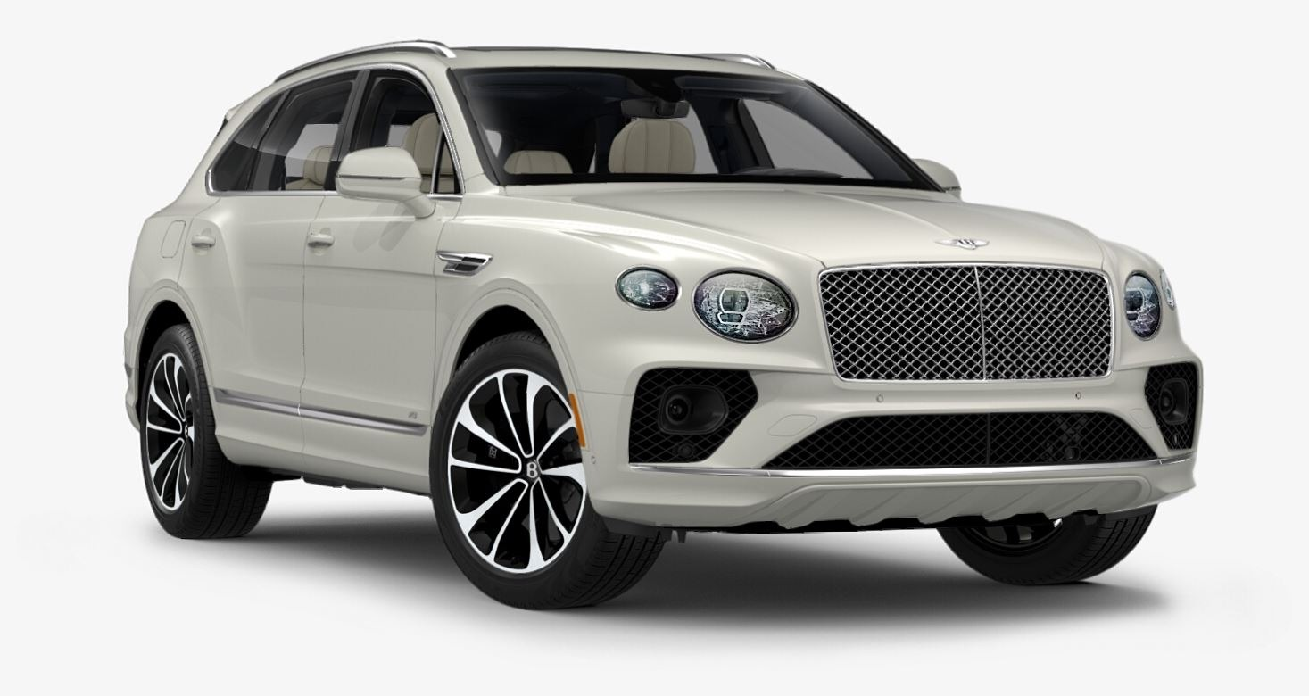 New 2021 Bentley Bentayga V8 for sale $204,855 at Bugatti of Greenwich in Greenwich CT 06830 1