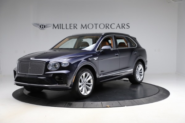 New 2021 Bentley Bentayga V8 for sale $203,205 at Bugatti of Greenwich in Greenwich CT 06830 2