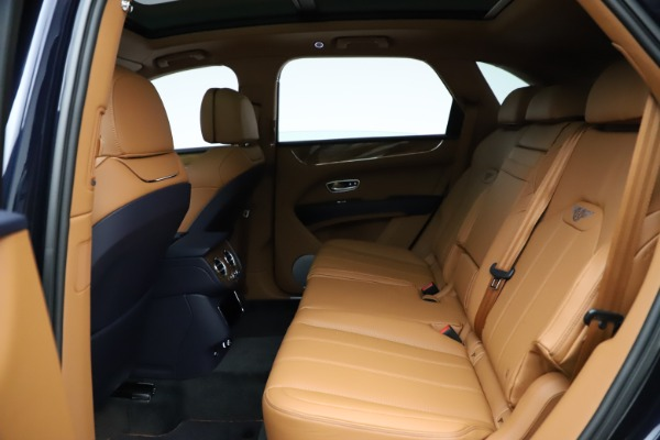 New 2021 Bentley Bentayga V8 for sale Call for price at Bugatti of Greenwich in Greenwich CT 06830 22
