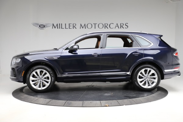 New 2021 Bentley Bentayga V8 for sale $203,205 at Bugatti of Greenwich in Greenwich CT 06830 3