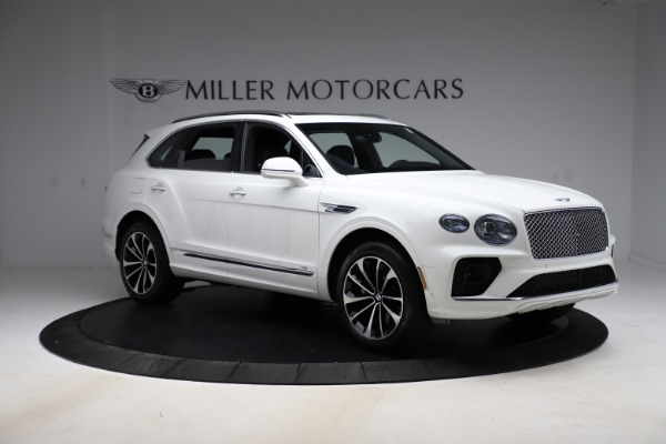 New 2021 Bentley Bentayga V8 for sale $207,765 at Bugatti of Greenwich in Greenwich CT 06830 11