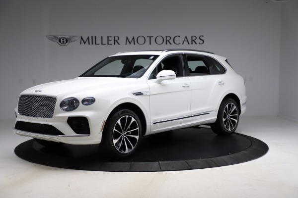 New 2021 Bentley Bentayga V8 for sale $207,765 at Bugatti of Greenwich in Greenwich CT 06830 2