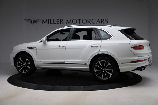 New 2021 Bentley Bentayga V8 for sale $207,765 at Bugatti of Greenwich in Greenwich CT 06830 4
