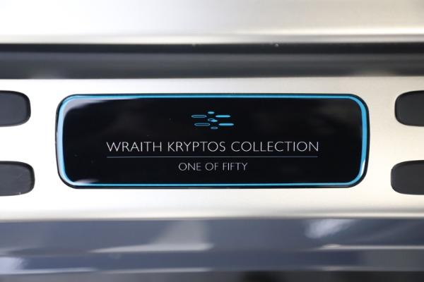 New 2021 Rolls-Royce Wraith KRYPTOS for sale $450,550 at Bugatti of Greenwich in Greenwich CT 06830 26