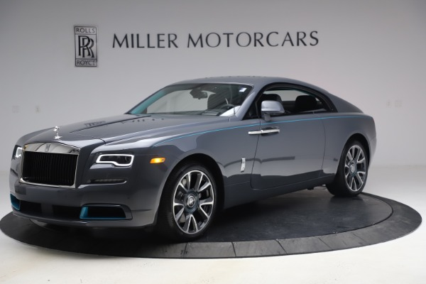 New 2021 Rolls-Royce Wraith KRYPTOS for sale $450,550 at Bugatti of Greenwich in Greenwich CT 06830 3