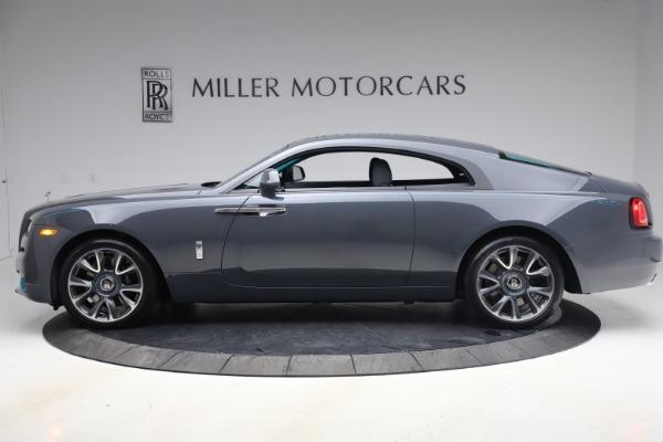New 2021 Rolls-Royce Wraith KRYPTOS for sale $450,550 at Bugatti of Greenwich in Greenwich CT 06830 4