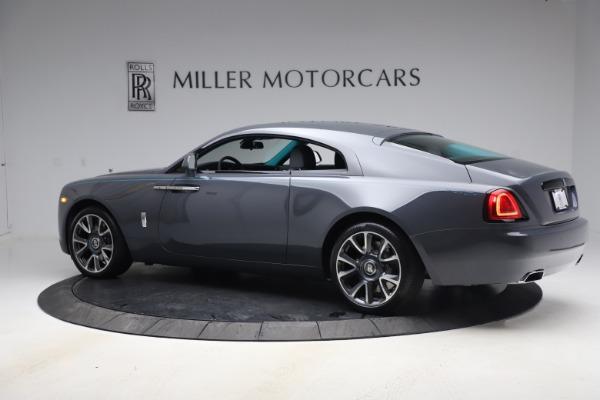 New 2021 Rolls-Royce Wraith KRYPTOS for sale $450,550 at Bugatti of Greenwich in Greenwich CT 06830 5