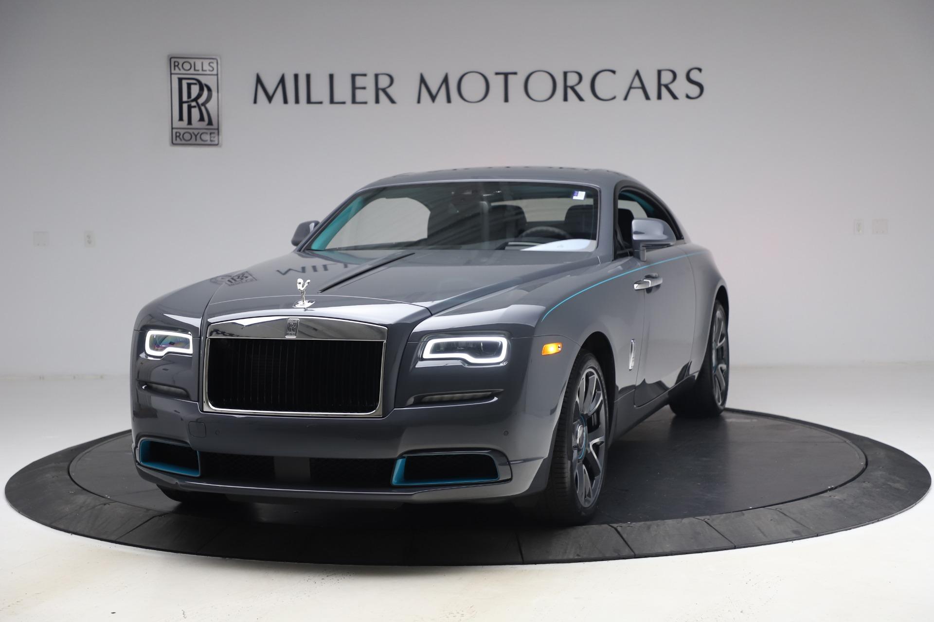 New 2021 Rolls-Royce Wraith KRYPTOS for sale $450,550 at Bugatti of Greenwich in Greenwich CT 06830 1
