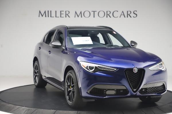 New 2020 Alfa Romeo Stelvio Ti Sport Q4 for sale $55,995 at Bugatti of Greenwich in Greenwich CT 06830 11