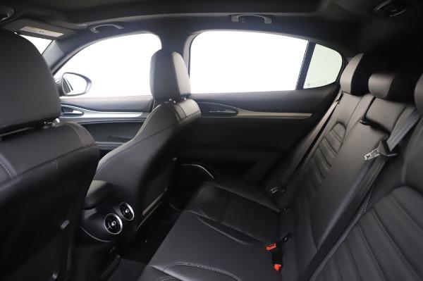 New 2020 Alfa Romeo Stelvio Ti Sport Q4 for sale $55,995 at Bugatti of Greenwich in Greenwich CT 06830 19