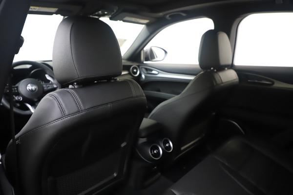 New 2020 Alfa Romeo Stelvio Ti Sport Q4 for sale $55,995 at Bugatti of Greenwich in Greenwich CT 06830 20