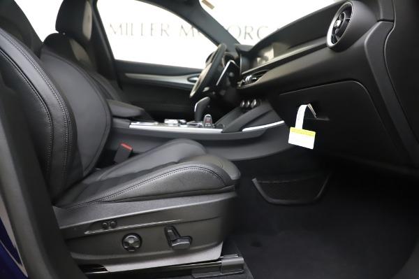 New 2020 Alfa Romeo Stelvio Ti Sport Q4 for sale $55,995 at Bugatti of Greenwich in Greenwich CT 06830 23