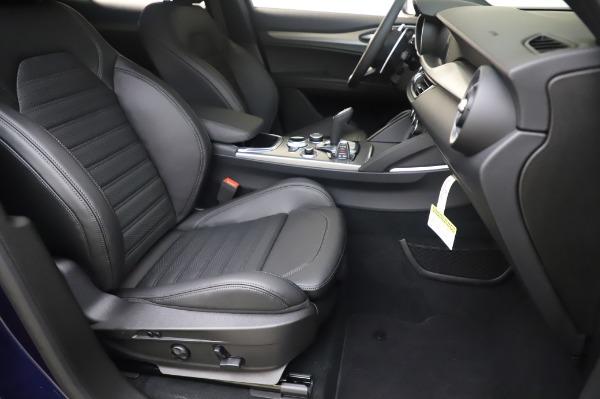 New 2020 Alfa Romeo Stelvio Ti Sport Q4 for sale $55,995 at Bugatti of Greenwich in Greenwich CT 06830 24
