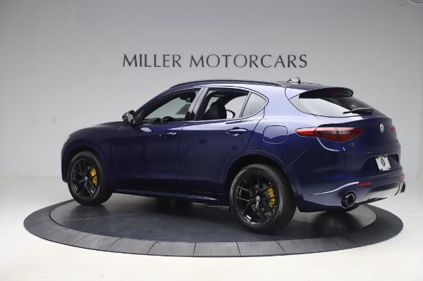 New 2020 Alfa Romeo Stelvio Ti Sport Q4 for sale Sold at Bugatti of Greenwich in Greenwich CT 06830 4