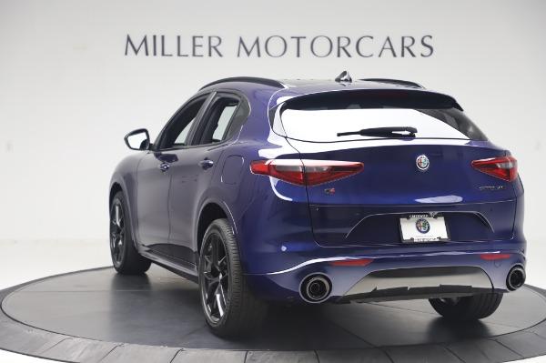 New 2020 Alfa Romeo Stelvio Ti Sport Q4 for sale Sold at Bugatti of Greenwich in Greenwich CT 06830 5
