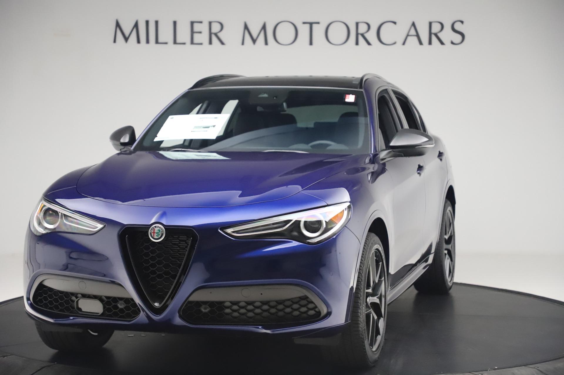 New 2020 Alfa Romeo Stelvio Ti Sport Q4 for sale $55,995 at Bugatti of Greenwich in Greenwich CT 06830 1