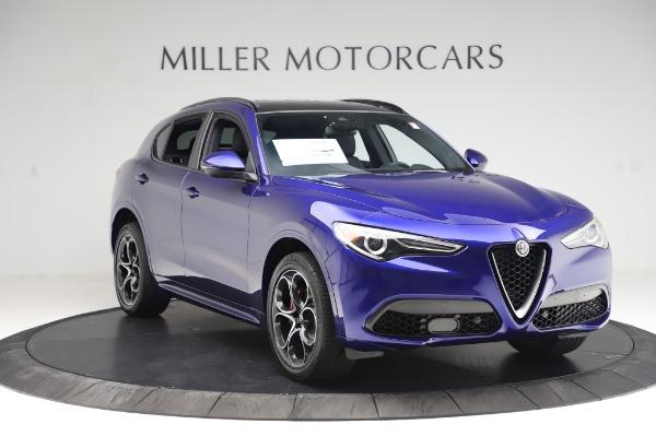 New 2020 Alfa Romeo Stelvio Ti Sport Q4 for sale $57,045 at Bugatti of Greenwich in Greenwich CT 06830 11