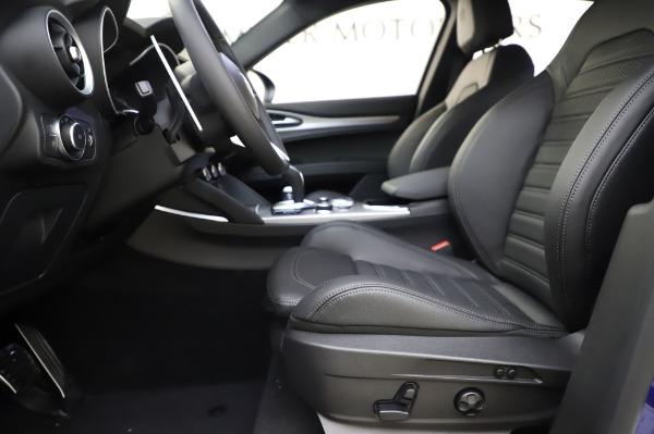 New 2020 Alfa Romeo Stelvio Ti Sport Q4 for sale $57,045 at Bugatti of Greenwich in Greenwich CT 06830 15