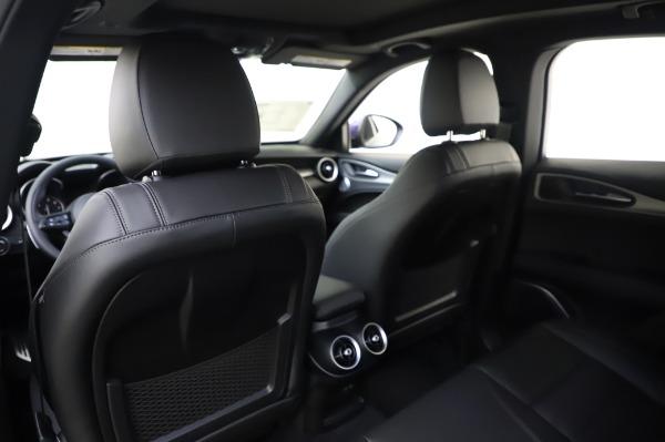 New 2020 Alfa Romeo Stelvio Ti Sport Q4 for sale $57,045 at Bugatti of Greenwich in Greenwich CT 06830 20