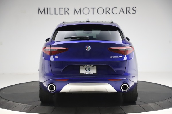 New 2020 Alfa Romeo Stelvio Ti Sport Q4 for sale $57,045 at Bugatti of Greenwich in Greenwich CT 06830 6