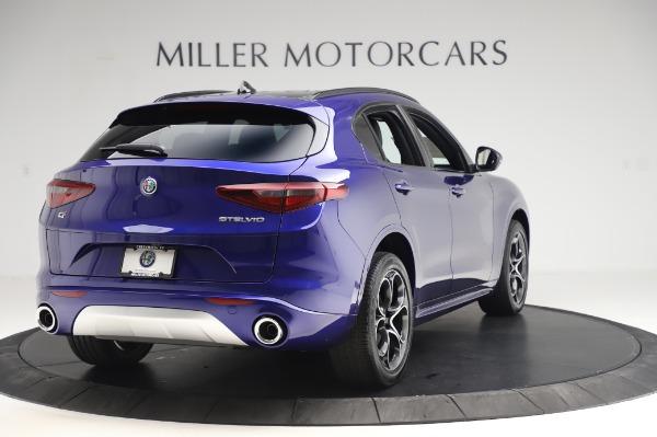New 2020 Alfa Romeo Stelvio Ti Sport Q4 for sale $57,045 at Bugatti of Greenwich in Greenwich CT 06830 7