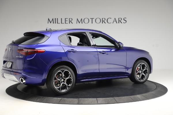 New 2020 Alfa Romeo Stelvio Ti Sport Q4 for sale $57,045 at Bugatti of Greenwich in Greenwich CT 06830 8