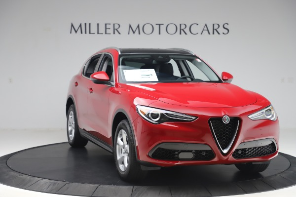 New 2020 Alfa Romeo Stelvio Q4 for sale $47,645 at Bugatti of Greenwich in Greenwich CT 06830 11