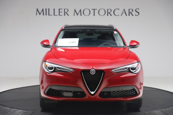 New 2020 Alfa Romeo Stelvio Q4 for sale $47,645 at Bugatti of Greenwich in Greenwich CT 06830 12