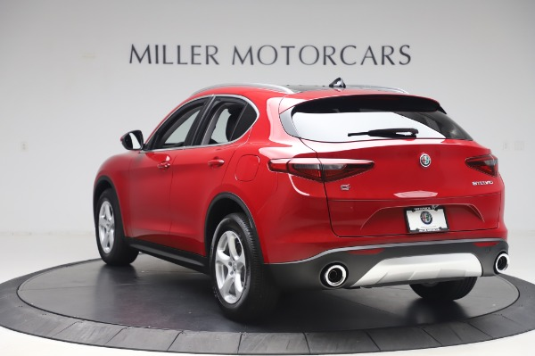 New 2020 Alfa Romeo Stelvio Q4 for sale $47,645 at Bugatti of Greenwich in Greenwich CT 06830 5