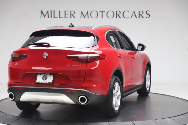 New 2020 Alfa Romeo Stelvio Q4 for sale Sold at Bugatti of Greenwich in Greenwich CT 06830 7