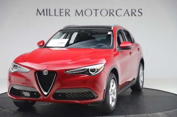 New 2020 Alfa Romeo Stelvio Q4 for sale $47,645 at Bugatti of Greenwich in Greenwich CT 06830 1