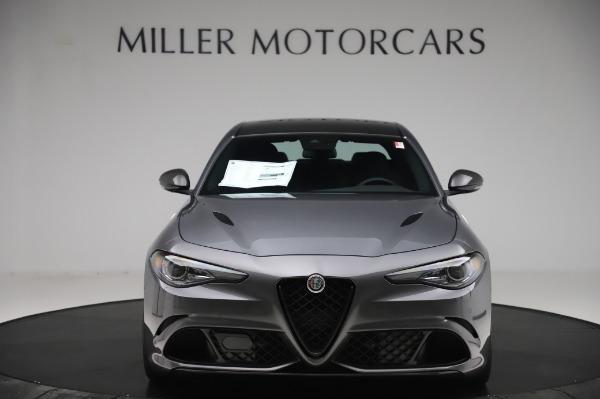 New 2020 Alfa Romeo Giulia Quadrifoglio for sale $87,445 at Bugatti of Greenwich in Greenwich CT 06830 12