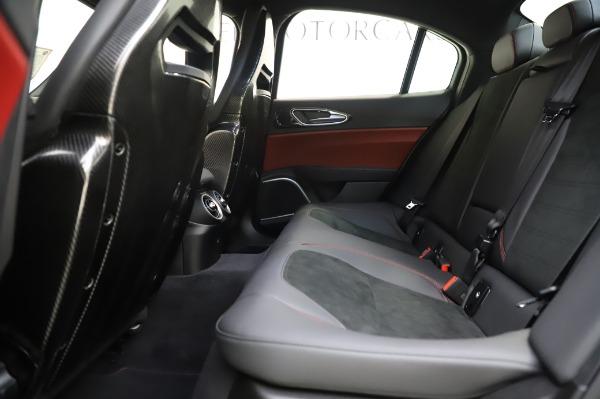 New 2020 Alfa Romeo Giulia Quadrifoglio for sale $87,445 at Bugatti of Greenwich in Greenwich CT 06830 18