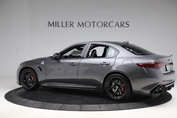 New 2020 Alfa Romeo Giulia Quadrifoglio for sale $87,445 at Bugatti of Greenwich in Greenwich CT 06830 4