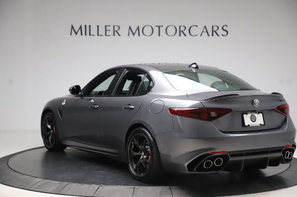 New 2020 Alfa Romeo Giulia Quadrifoglio for sale $87,445 at Bugatti of Greenwich in Greenwich CT 06830 5