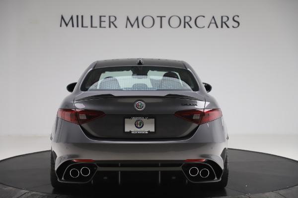 New 2020 Alfa Romeo Giulia Quadrifoglio for sale $87,445 at Bugatti of Greenwich in Greenwich CT 06830 6